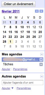 Capture d'écran 2011 03 01 à 11.12.471 Partager un Google agenda avec un autre compte