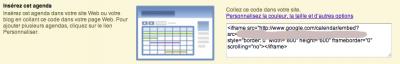 Capture d'écran 2011 03 01 à 11.48.11 400x64 Publier son Google Calendar sur une page internet publique ou non