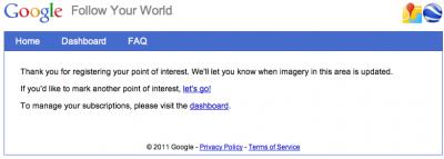 Capture d'écran 2011 03 08 à 22.47.26 400x143 Être averti par Google Earth / Google Maps