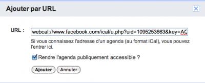 Capture d'écran 2011 07 06 à 23.14.581 400x162 Synchroniser ses évènements FaceBook sur son calendrier Gmail
