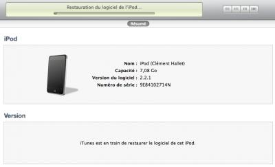jb2 400x243 Mise à jour du Firmware et Jailbreak ipod touch G1 ( sur un MAC ou PC )