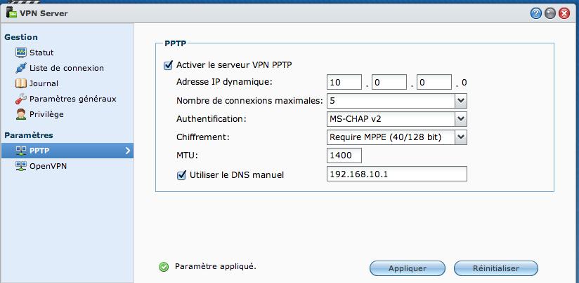 VPN01 Ajouter un VPN Synology à son MAC avec le client de base