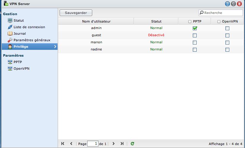 VPN02 Ajouter un VPN Synology à son MAC avec le client de base
