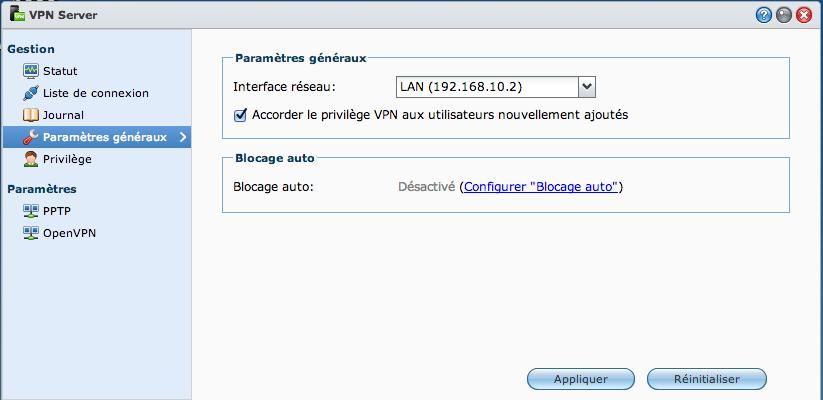 VPN03 Ajouter un VPN Synology à son MAC avec le client de base