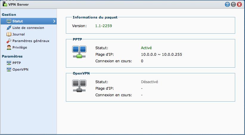 VPN04 Ajouter un VPN Synology à son MAC avec le client de base