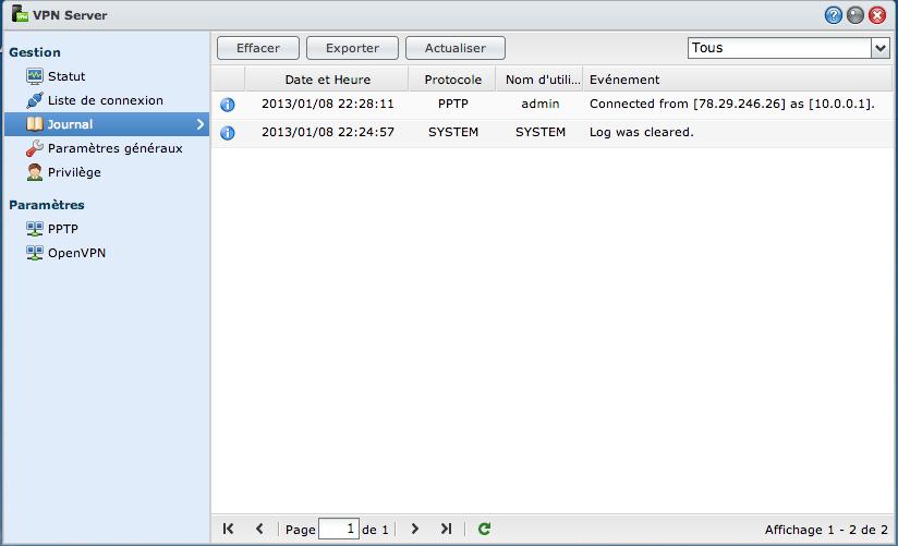 VPN06 Ajouter un VPN Synology à son MAC avec le client de base