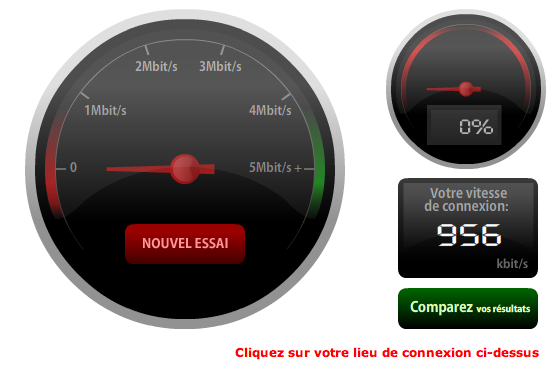 Test de performance internet